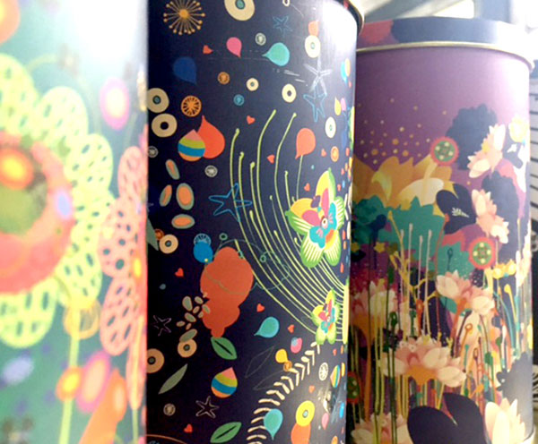 Tea tin packaging