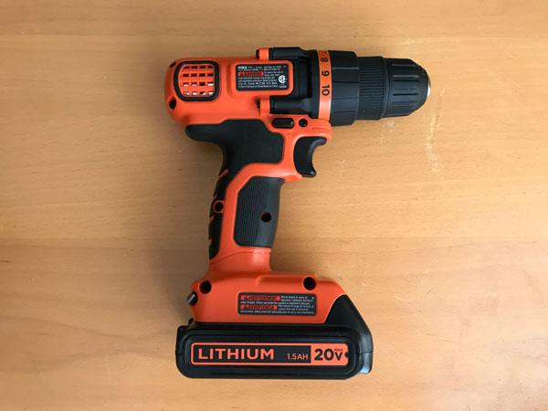 Black & Decker LD120VA Drill