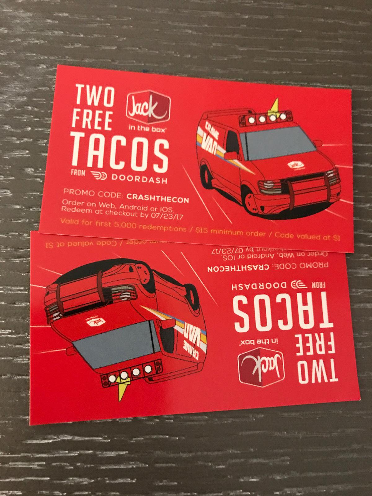 free tacos voucher