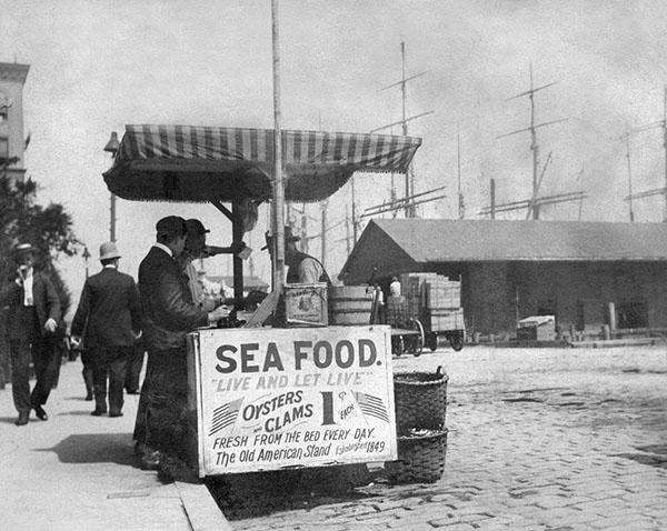 Sea Food Stand