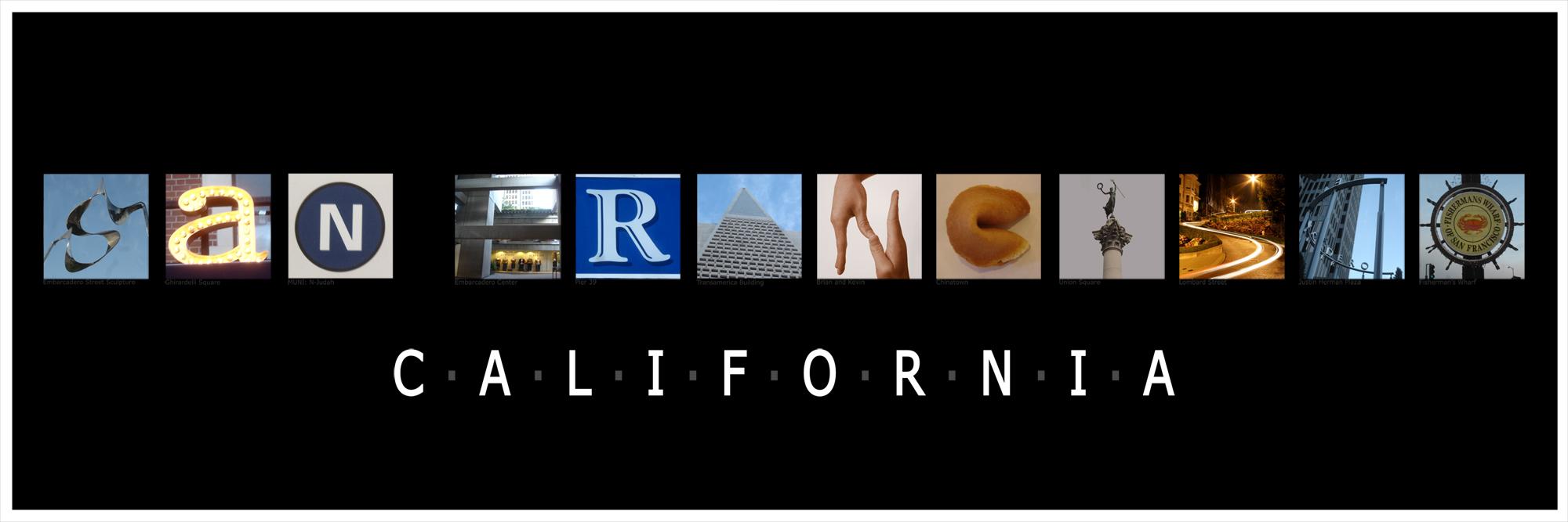 SF Letter Art